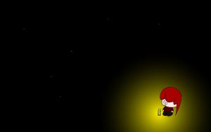Fireflies shine brightest in the dark.