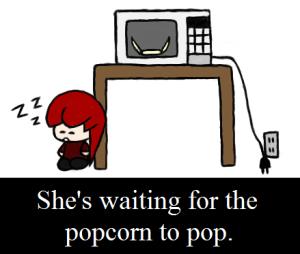 It's a popcorn tragedy!