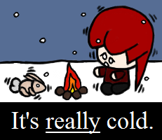 Really. Cold.