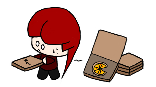 The mysterious thief of pizza!