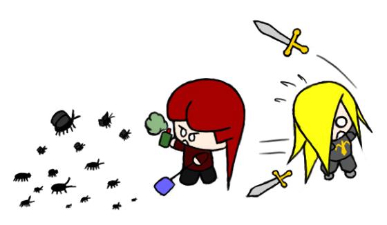 Beware the TRUE swarm!