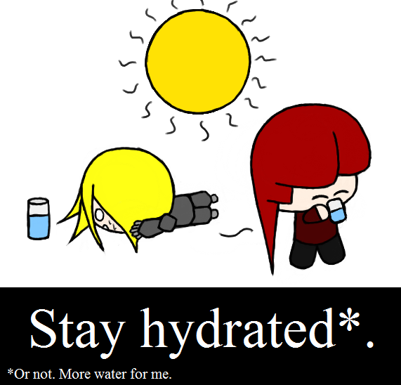 Stay Hydrated | Pirate Blog