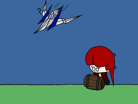 Wrong kind of barrel roll, Pirate!