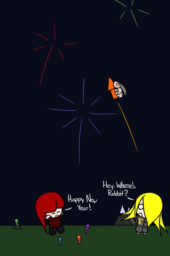 Happy Birthday Pirate, and happy New Year!