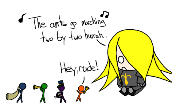 Good song, wrong audience, Knight.