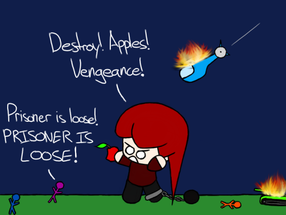 Without apples, the world will burn!