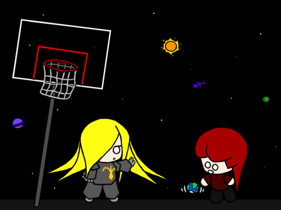In space, nobody can hear you dunk.
