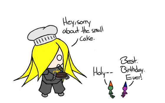 I wish for a cake as relatively big as that one.