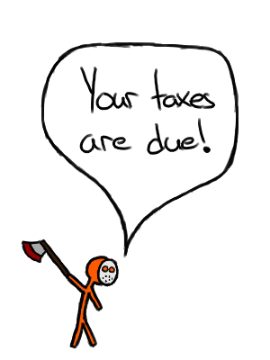 You can't solve taxes with an axe. (Or can you?)