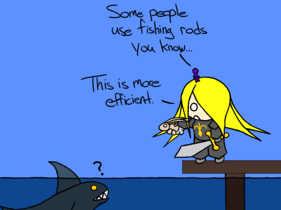 *Pirate Blog in no way supports killing sharks or endangering rabbits unless you're hungry.