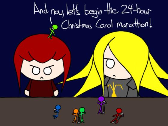Thus began the Christmas Carol massacre.