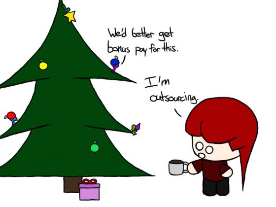 'Tis the season to be lazy...