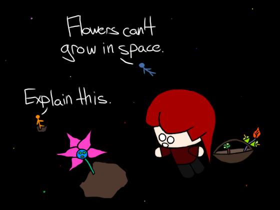 Space Flowers