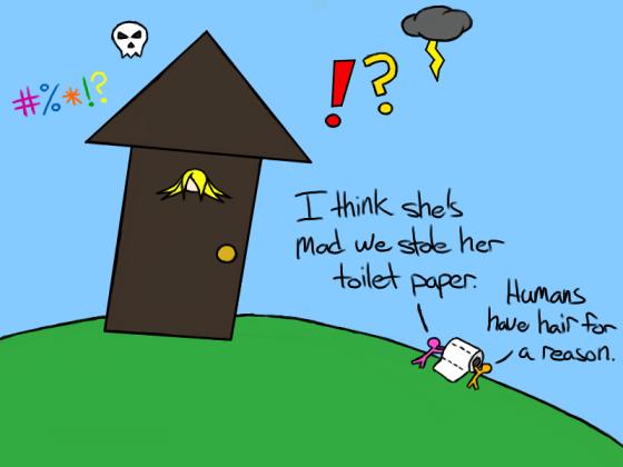 Toilet Paper Takeout
