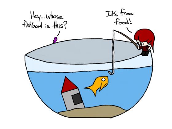 Bowl Fishing