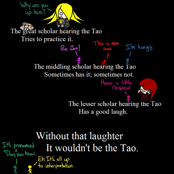 Laughter of the Way